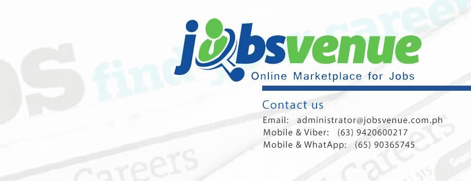 Jobsvenue.com.ph: Online Marketplace for Jobs